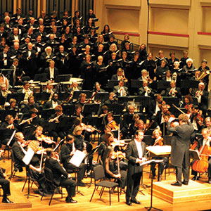 Charlotte Symphony Orchestra and The Oratorio Singers